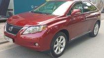 Cần bán gấp Lexus RX 350  3.5 AT sản xuất 2010, màu đỏ, nhập khẩu