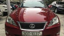 Chính chủ bán Lexus IS 250 đời 2009, màu đỏ, nhập khẩu, giá chỉ 888 triệu