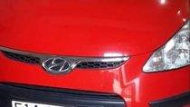 Bán ô tô Hyundai i10 AT năm sản xuất 2010, màu đỏ, nhập khẩu, xe nhà ít sử dụng