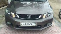 Bán Honda Civic sản xuất 2014, màu xám, giá 570tr