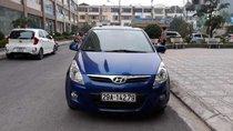 Bán Hyundai i20 đời 2010, màu xanh lam, xe nhập số tự động