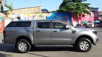 Bán Ford Ranger XLS model 2017, màu bạc, nhập khẩu, gắn thêm thùng còn mới toanh, giá 600tr