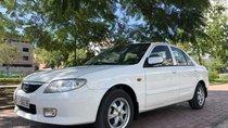 Bán xe Mazda 323 Family 1.6L sản xuất năm 2003, màu trắng, giá 186tr