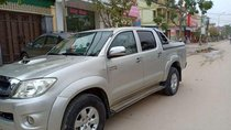 Cần bán xe Toyota Hilux 3.0G sản xuất 2011, màu bạc, xe nhập
