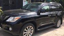 Cần bán lại xe Lexus LX năm sản xuất 2010, màu đen, giá tốt