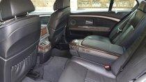 Cần bán BMW 7 Series 750  4.8 AT sản xuất 2006, màu đen, xe nhập