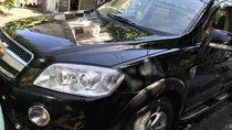 Cần bán Chevrolet Captiva sản xuất năm 2007, màu đen, máy êm