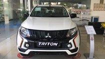 Mitsubishi Triton Athlete màu trắng, xe nhập nguyên chiếc, có xe giao ngay tại Đà Nẵng
