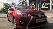 Bán Toyota Yaris G 7/2017, màu đỏ, mới chạy lướt ít hơn 6.000km