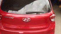 Bán ô tô Hyundai Grand i10 đời 2017, màu đỏ, xe chưa đâm đụng hay ngập nước gì hết