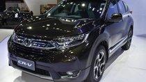 Cần bán Honda CR V sản xuất năm 2018, màu đen, nhập khẩu nguyên chiếc