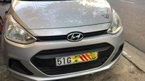 Bán xe Hyundai Grand i10 Base 1.0MT đời 2015, màu bạc, nhập khẩu, đăng ký 2016