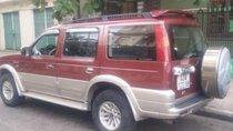 Cần bán xe Ford Everest sản xuất năm 2005, màu đỏ, nhập khẩu nguyên chiếc