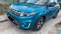 Bán Suzuki Vitara 1.6 AT sản xuất 2016, màu xanh lam, xe nhập