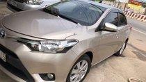Cần bán Toyota Vios sản xuất 2016, màu vàng giá cạnh tranh