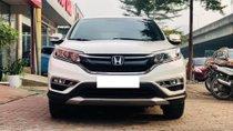 Cần bán gấp Honda CR V 2.4 AT năm sản xuất 2015, màu trắng, odo 3,8 vạn