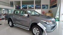 Bán ô tô Mitsubishi Triton đời 2018, màu xám, nhập khẩu nguyên chiếc, giá chỉ 555.5 triệu
