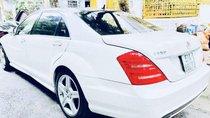 Cần bán Mercedes S550 sản xuất năm 2007, màu trắng, nhập khẩu chính chủ