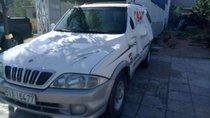 Cần bán Ssangyong Musso sản xuất 2011, màu trắng, xe đẹp