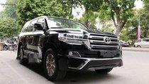 Bán ô tô Toyota Land Cruiser VX 4.6 V8 đời 2019, màu đen, nhập khẩu nguyên chiếc