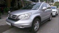 Cần bán xe Honda CR V 2.4 sản xuất 2009, màu bạc, giá chỉ 490 triệu