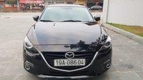 Bán Mazda 3 năm sản xuất 2015, màu đen, nhập khẩu xe gia đình, 612tr