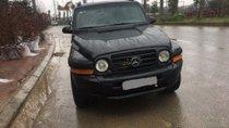 Bán xe Ssangyong Korando 2.0 MT đời 2003, màu đen, nhập khẩu