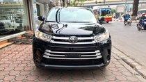 Bán xe Toyota Highlander LE năm 2017, màu đen, màu đỏ nhập khẩu Mỹ, LH em Hương: 0945392468