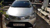 Bán Toyota Vios 1.5E sản xuất 2014, màu xám, giá tốt