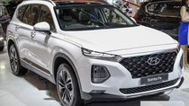 Cần bán xe Hyundai Santa Fe năm 2019, màu trắng