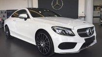Cần bán xe Mercedes C300 Coupe' 2018, màu trắng, nội thất đỏ nhập khẩu từ Đức ở Buôn Ma Thuột, Đắk Lắk