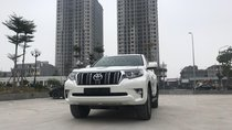 Cần bán xe Toyota Prado đời 2018, màu trắng, xe siêu lướt thơm mùi mới - Liên hệ: 094-711-6996 Mr Thanh