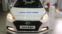 Bán Hyundai Grand i10 Sedan AT, xe giao ngay, thanh toán 135tr - LH: 0918439988