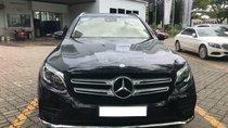 Bán Mercedes GLC 300 4Matic sản xuất 2017, màu đen, nội thất đen, biển HN
