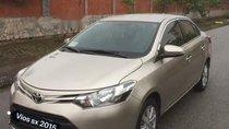 Bán ô tô Toyota Vios năm sản xuất 2015, màu vàng