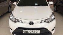 Bán Toyota Vios 1.5E năm sản xuất 2017, màu trắng, giá 495tr