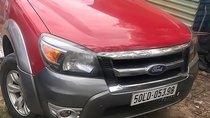 Cần bán gấp Ford Ranger XLT 2.5L 4x4 MT đời 2009, màu đỏ, xe nhập