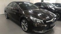 Cần bán Mercedes CLA 200 đăng ký 2018, màu nâu, xe trưng bày. Bảo hành đến 2021