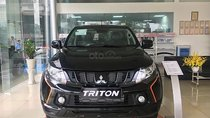 Cần bán Mitsubishi Triton Athlete 4x2 AT Mivec năm sản xuất 2018, màu đen, nhập khẩu, giá tốt