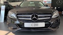 Bán xe Mercedes C200 đời 2018, màu đen