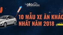 Top 10 xe bán chạy nhất Việt Nam năm 2018: Toyota Vios, Hyundai Grand i10 xưng vương
