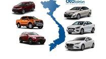 Thị phần ô tô Việt Nam năm 2018: Thaco giữ vững ngôi vương, Honda tăng trưởng thần kỳ