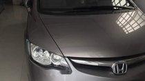 Bán ô tô Honda Civic 1.8MT đời 2008, màu xám, số sàn, giá tốt