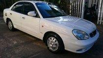 Bán Daewoo Nubira sản xuất 2002, màu trắng, xe gia đình