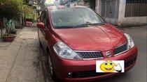 Cần bán xe Nissan Tiida 2008, màu đỏ, xe còn đẹp