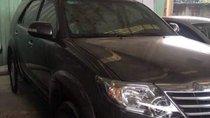 Bán Toyota Fortuner năm 2013, màu đen, giá tốt