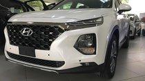 Bán Hyundai Santa Fe 2.2L HTRAC sản xuất 2019, màu trắng