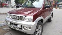 Cần bán xe Daihatsu Terios 1.3 4x4 MT năm sản xuất 2003, màu đỏ chính chủ, giá chỉ 210 triệu