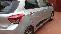 Bán Hyundai Grand i10 1.0 AT sản xuất năm 2015, màu bạc, nhập khẩu