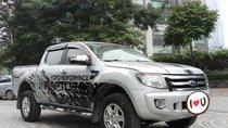 Ô tô Thủ Đô bán xe Ford Ranger XLT 2.2L 4x4 2013, màu bạc, 445 triệu